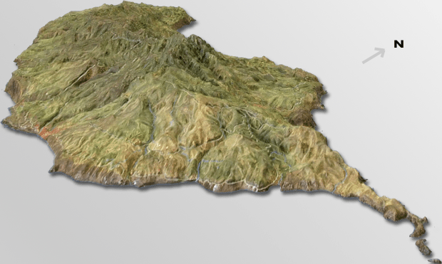 drone aerial 3d elevation map