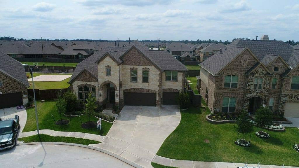 Drone Real Estate Listing