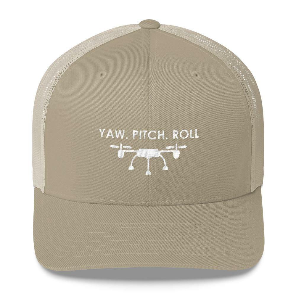 Yaw. Pitch. Roll Hat