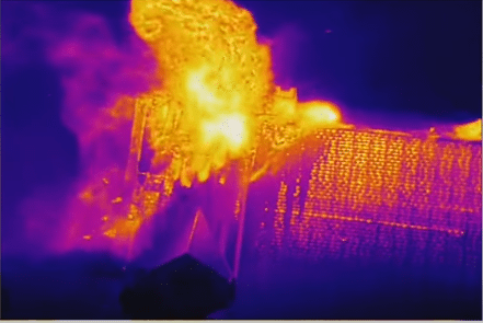 Aerial thermal imaging can be used in Houston by firefighters to live-stream the fire to specialists for advice on how to best fight the fire, to locate dangerous hot spots and to get a better view of where to best fight the fire. More at www.droneservicestx.com